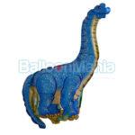 Balon folie Dinozaur albastru 35 cm
