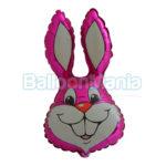Balon folie Iepure roz 60 cm 901589/R