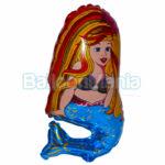 Balon folie Sirena 35 cm