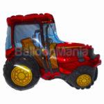 Balon folie Tractor rosu 60 cm