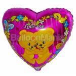 Balon folie Ursuleti Love Me 45 cm 201600