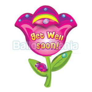 Balon folie Get well soon 80 cm