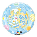 Balon folie It's a boy 45 cm Q91299