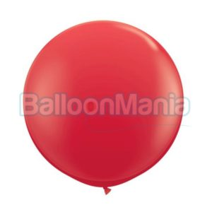 Balon latex rosu, 90 cm 42554