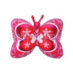 Balon folie Fluture rosu 60 cm