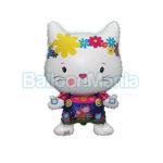Balon folie Pisica prietenoasa 60 cm