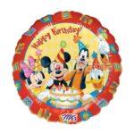 Balon folie Mickey Happy Birthday 45 cm A09223