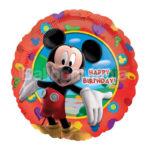 Balon folie Mickey Happy Birthday 45 cm A14055