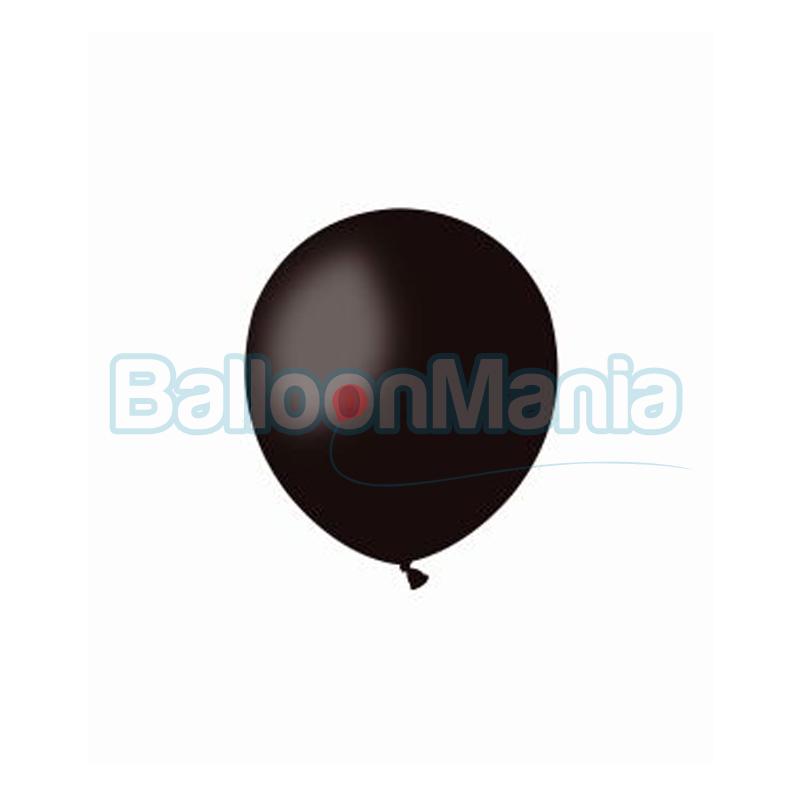 Balon latex negru 13 cm