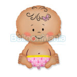 Balon folie Baby Girl 60 cm