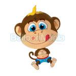 Balon folie Maimuta 60 cm