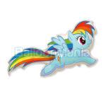 Balon folie Rainbow Dash 60 cm