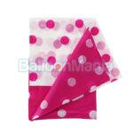 Fata de masa Polka roz 128X181cm PF-OGRO