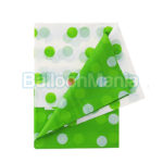 Fata de masa Polka verde 128X181cm PF-OGPI