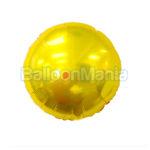 Balon Auriu folie 45 cm 401500.ZL
