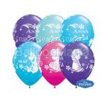 Baloane inscriptionate Anna, Elsa si Olaf