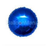 Balon Albastru folie 45 cm 401500.N