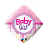Balon folie Baby Girl 45 cm Q14400