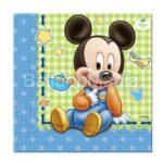 Servetele Mickey Baby 20/set 84347