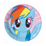 Set farfurii Pony Rainbow