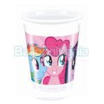 Set pahare Pony Rainbow