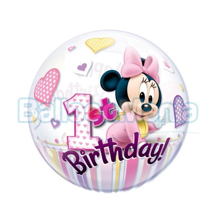 bubble-minnie-1st-birthday
