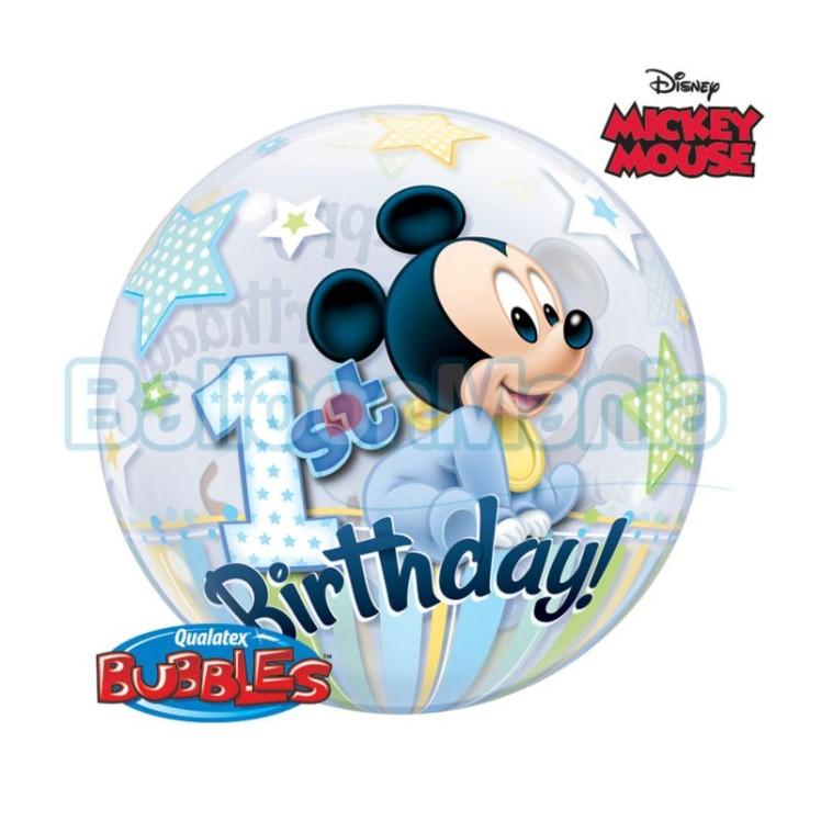 bubble-mickey-1st-birthday