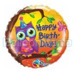 balon-folie-happy-birthday-cu-bufnita-45cm