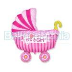 balon-folie-carucior-it's-a-girl-60cm