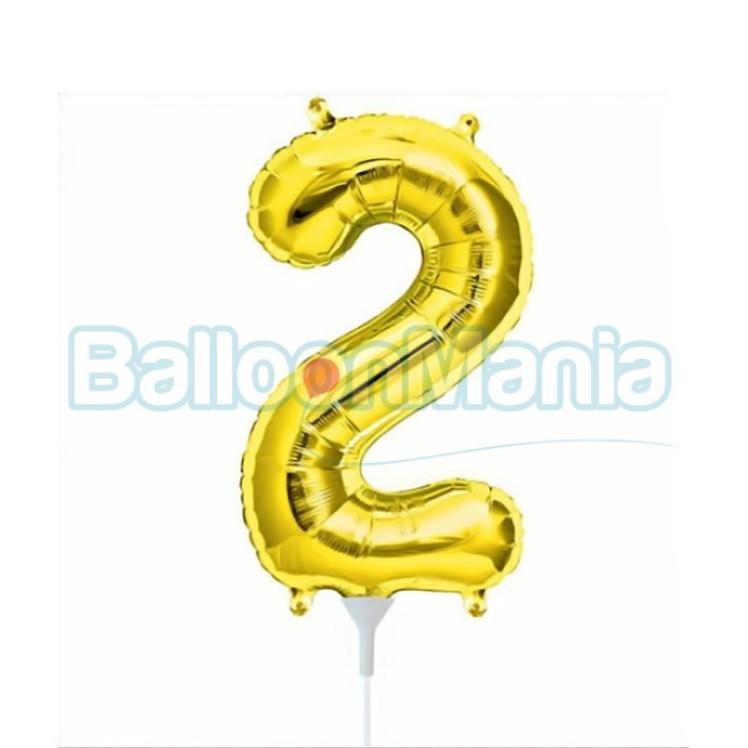 balon-folie-cifra-2-auriu-41cm
