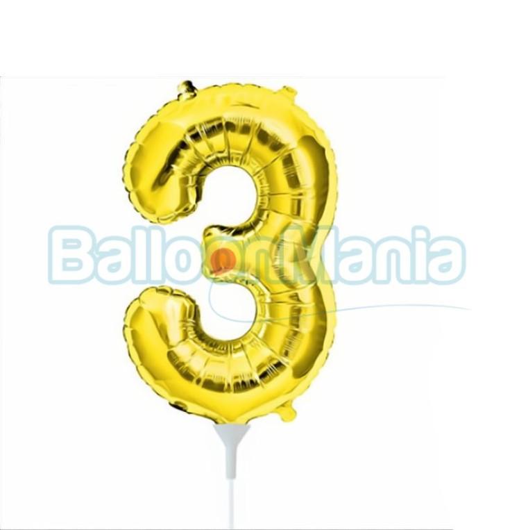 balon-folie-cifra-3-auriu-41cm