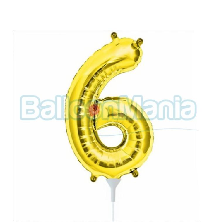 balon-folie-cifra-6-auriu-41cm
