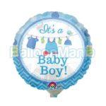 balon-folie-baby-boy-22cm