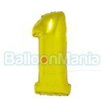 balon-folie-cifra-1-auriu-35cm