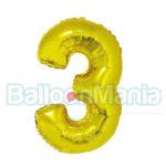 balon-folie-cifra-3-auriu-35cm