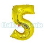 balon-folie-cifra-5-auriu-35cm