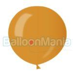 Balon latex auriu metalizat 75 cm GM200.39