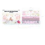 Set Decoratiuni 1st Birthday Girl SET6-019
