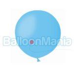 Balon latex albastru deschis 48 cm G150.09