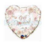 Balon folie Just Married 45 cm Q31082