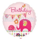 Balon folie Birthday Girl, 45 cm A24491