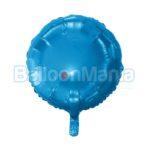 Balon folie albastru inchis 43 cm HS-O18NB
