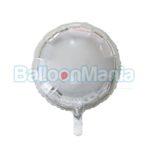 Balon folie argintiu 43 cm HS-O18SN