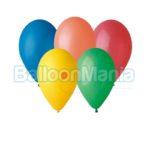 Baloane latex asortate 26 cm, 20 buc/set G90.P20