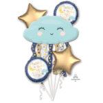 buchet-5-baloane-folie-twinkle,-twinkle-little-star