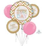 buchet-5-baloane-folie-pastel-confetti-celebration-37180