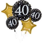 buchet-5-baloane-folie-sparkling-40-32144