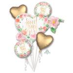 Buchet 5 baloane folie  Sweet Baby Girl 38516-HE