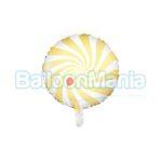 Balon folie Acadea galben pal, 45 cm FB20P-084J
