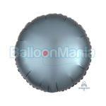 Balon folie Albastru otel, 43 cm 3681201